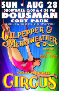 Downtown Dousman Circus | Culpepper & Merriweather @ Cory Municipal Park | Dousman | Wisconsin | United States