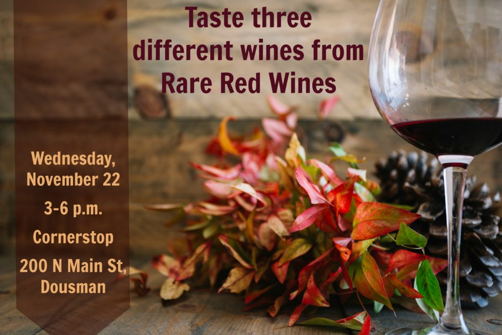 Wine Tasting at the Cornerstop - Weds, Nov 22 @ Mike & Rocco's Cornerstop | Dousman | Wisconsin | United States