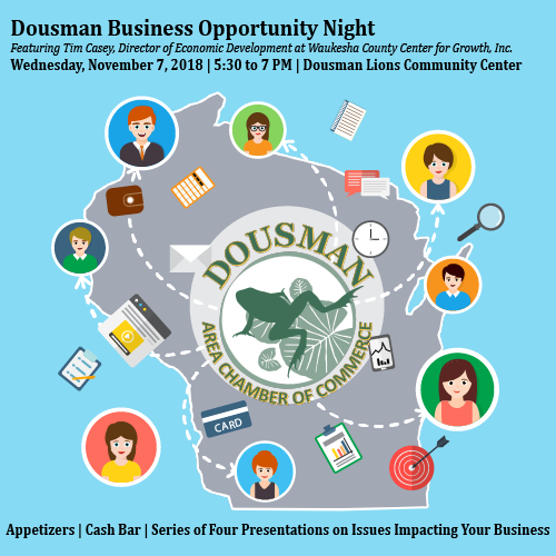 Dousman Business Opportunity Night   Dousman Area Chamber of