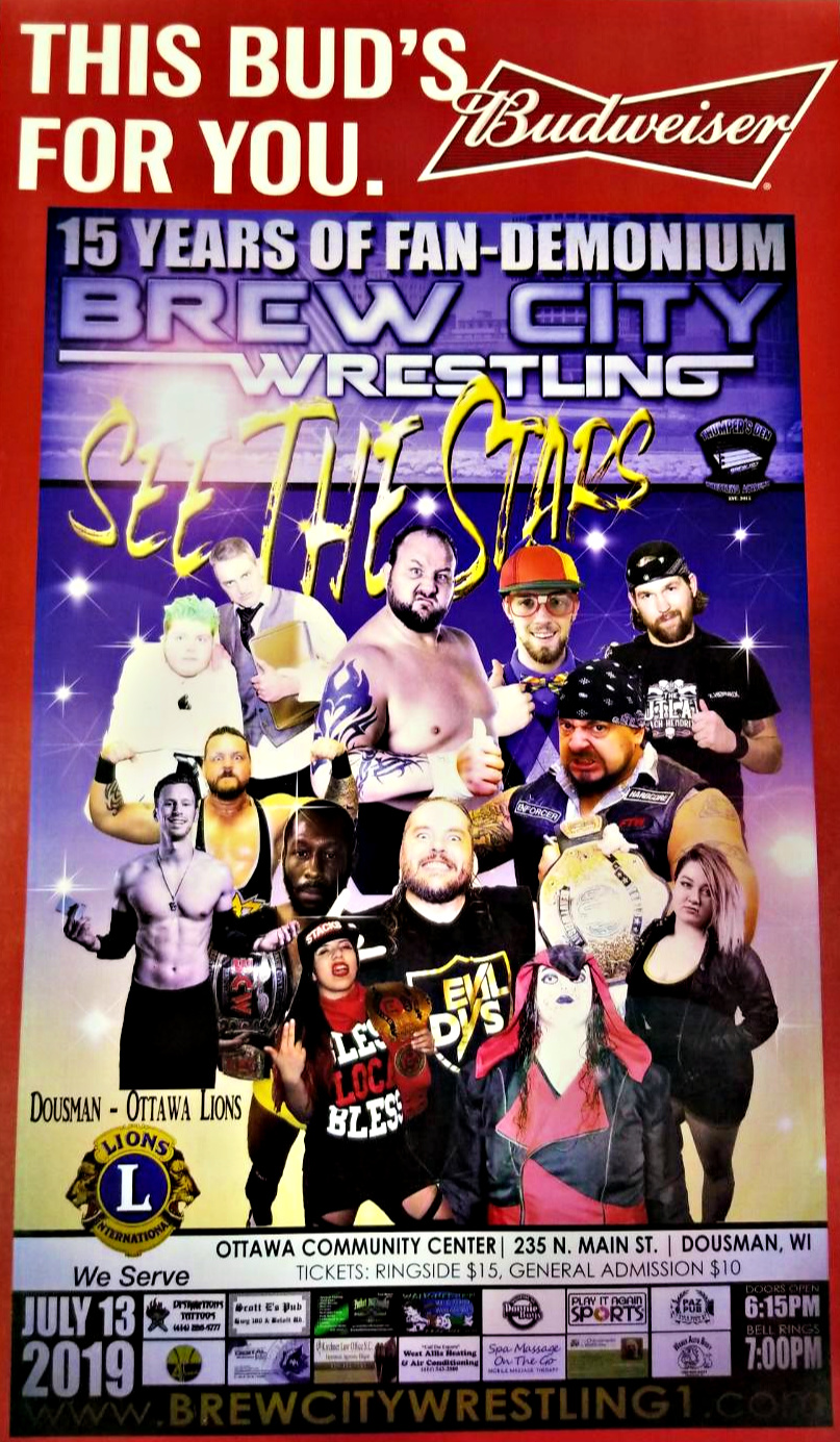 Brew City Wrestling Event